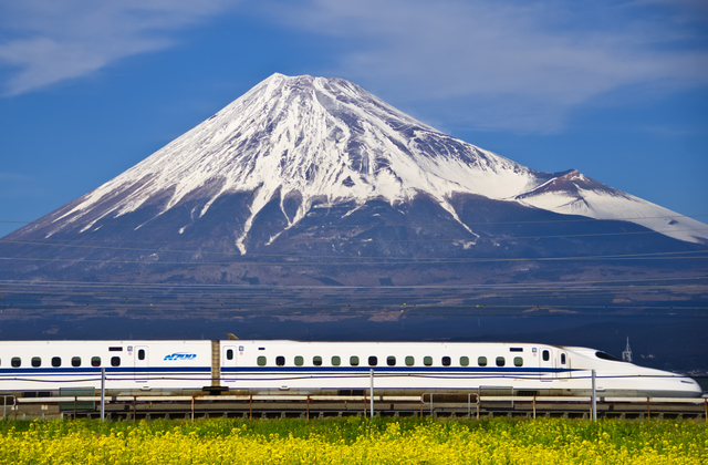 Shinkansen and Mt.Fuji