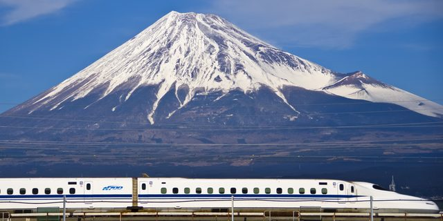 Shinkansen and Mt.Fuji